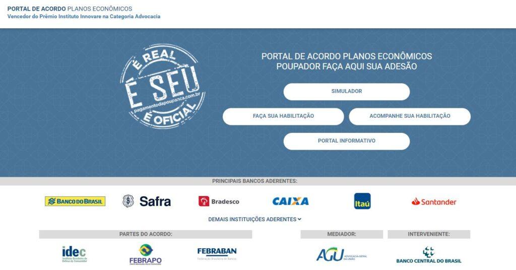 Poupador pode aderir a acordo de planos econômicos pela internet